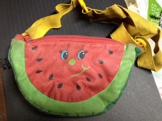 Children's Watermelon Fanny Pack