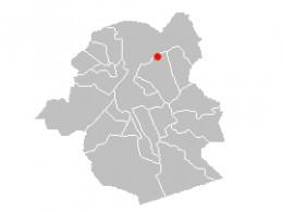 Map location of Schaerbeek / Schaarbeek station, Brussels