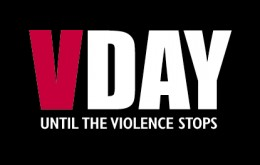 VDay: Until the Violence Stops  (image source: http://www.plu.edu/~womencen/photos/vagina-monologues.html)