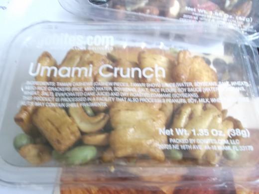 A GoBites snack - Umami Crunch.