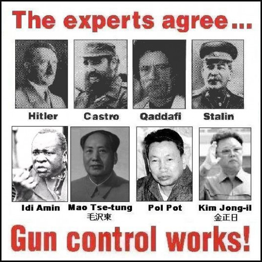 Some of the great minds who have spoken in support of gun control.