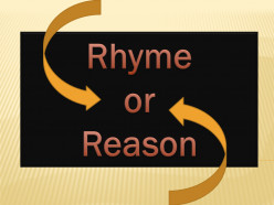 """No Rhyme or Reason"" A Writer's Poem"
