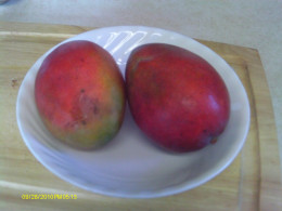 Mangos are frequently used in Thai recipes.