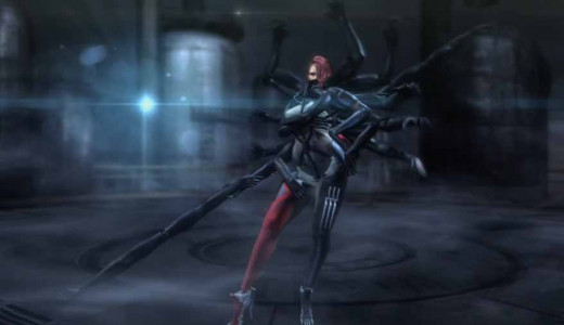 Metal Gear Rising Revengeance Defeat Mistral and her many arms