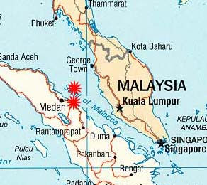 The Straits of Malacca