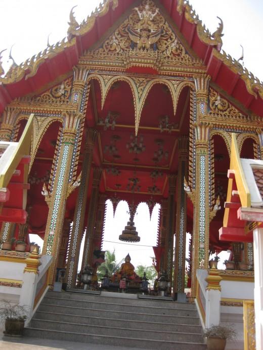 A beautiful temple of Gautama Buddha