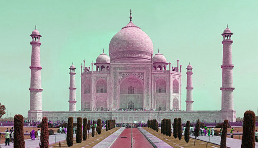 TajMahal - the most famous historical monument of India