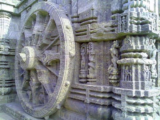 Konark Temple wheel