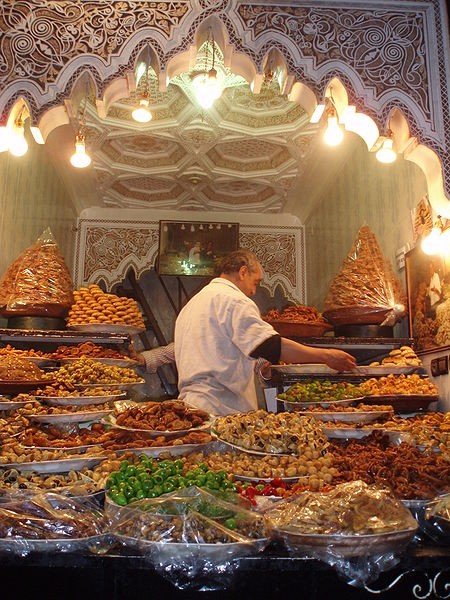 A Moroccan Pastry Buffet