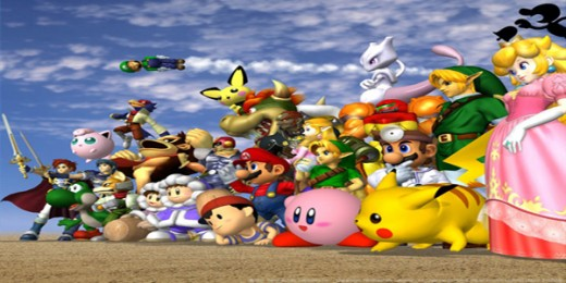 No one can pretend they dont know what this image is. Its the super smash bros melee cast that we all know and love and I think its safe to say we all get an overload of memories whenever we see this picture