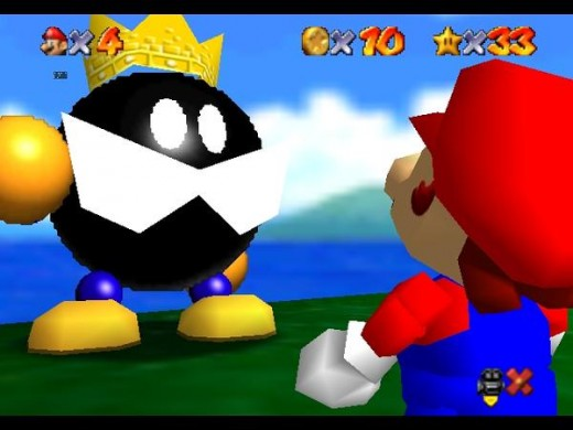 Alot of you should recognize this guy. The first boss of super mario 64. Chances are he probably kicked you around for a good ten minutes before you found out how to beat him. But its all part of his charm. That and the mustache.