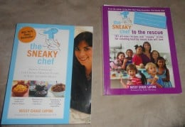My two favorite Sneaky Chef cookbooks