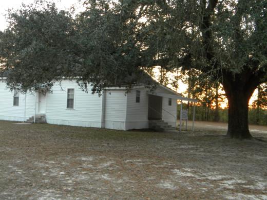 The church at Honeysuckle