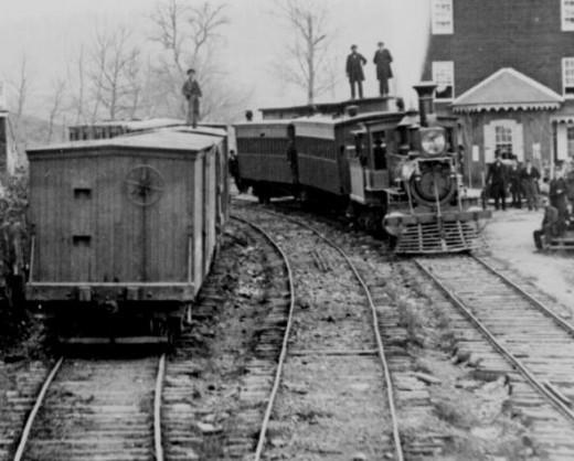 The train to Waycross, Georgia.