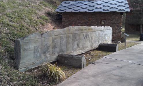 The Waldensian War Memorial.