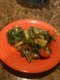 Stir Fry Recipes--Chicken and Spinach