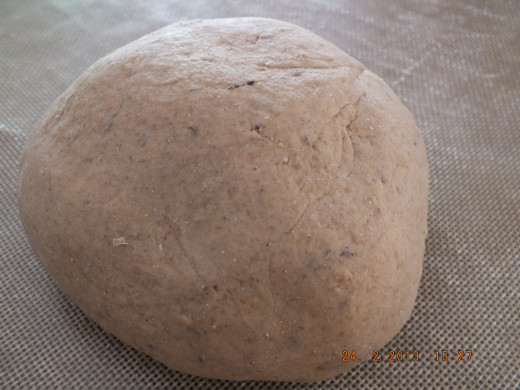 This is the consistency you are trying to achieve with the kneading. Don't be shy. You can't over knead.