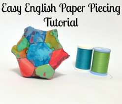 What is English Paper Piecing? Easy Hexagon Quilting Tutorial