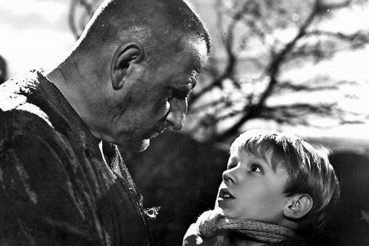 Finlay Currie and Anthony Wager in  Great Expectations (1946)