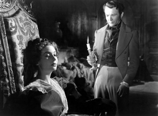 Valerie Hobson and John Mills in Great Expectations (1946)
