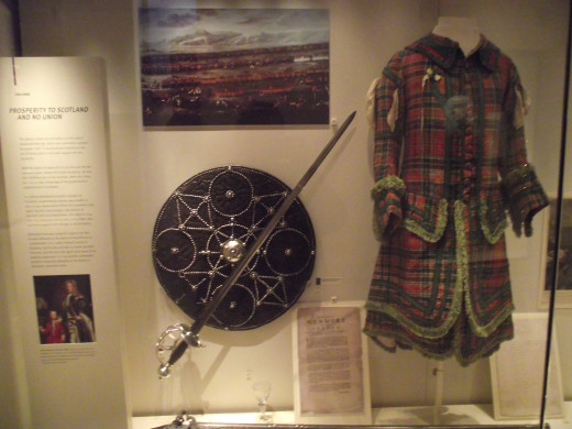 Jacobite Targe and Sword