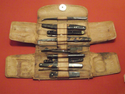 Dr Livingstone's Pocket Knives