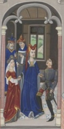 Marriage of Ada, Countess of Holland and Louis II, Count of Loon