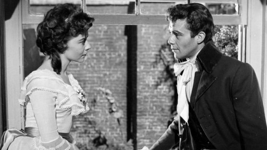 Dorothy Tutin and Dirk Bogarde in A Tale of Two Cities (1958)