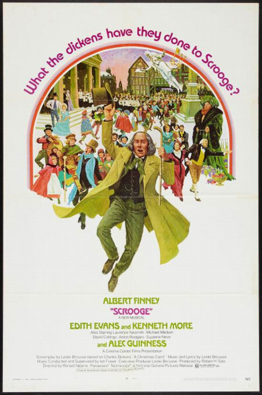 Scrooge (1970) poster