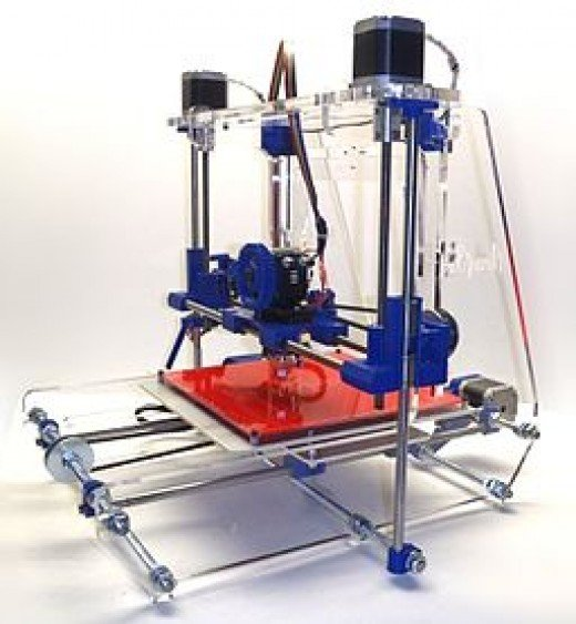 A 3d printer that could possibly be used to create weapons for home defense.