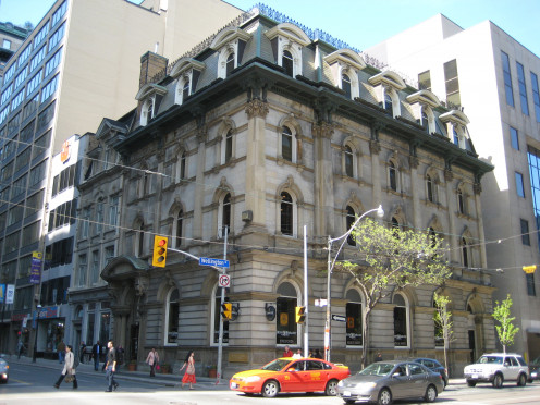 Former Bank of British North America building, Toronto