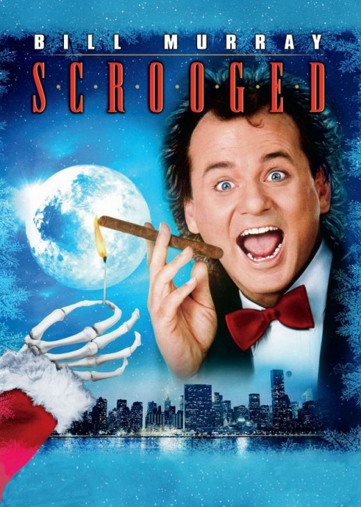 Scrooged (1988) poster