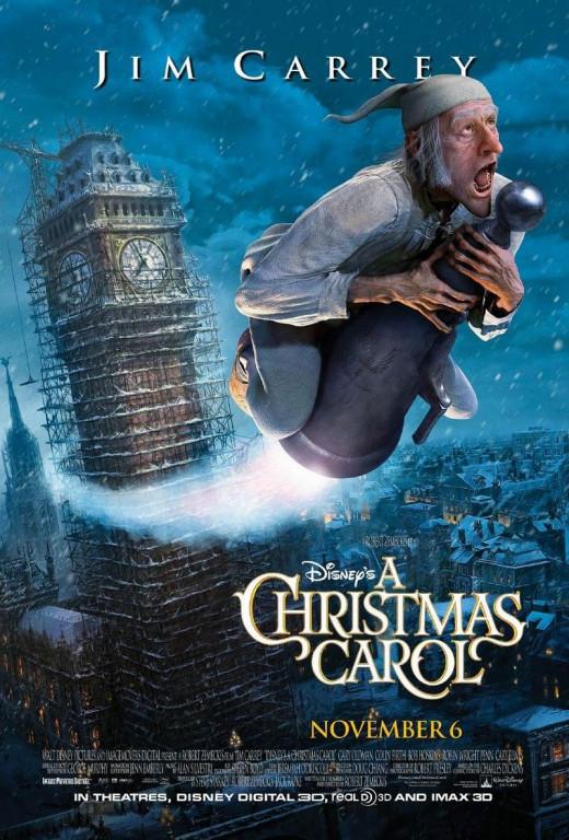 A Christmas Carol (2009) poster