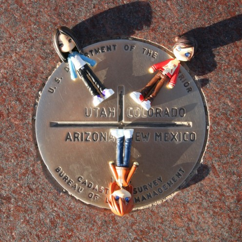Visit Four Corners - where these four states meet.