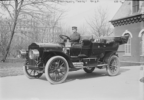 President William Howard Taft's White Motor Company Model M
