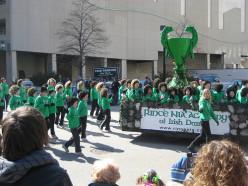St. Patrick's Day Parade, Milwaukee, 2009