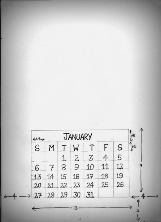 The Monthly calendar blueprint
