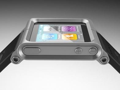 The iPod watch strap called LunaTik, a cool CNC machined aluminum watch enclosure.