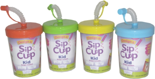 This cup allows them to decorate their own cup!
