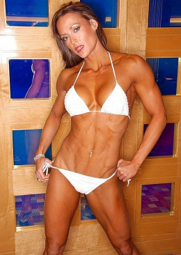 Erin Stern - female fitness model