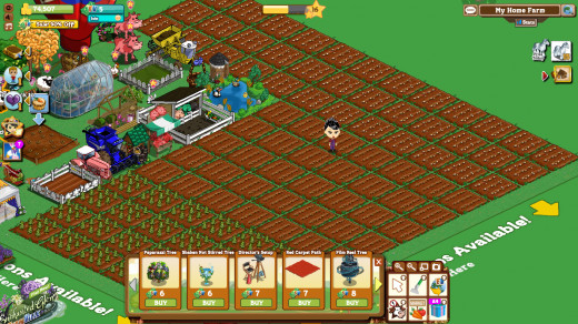 Succeeding in FarmVille takes time and patience.