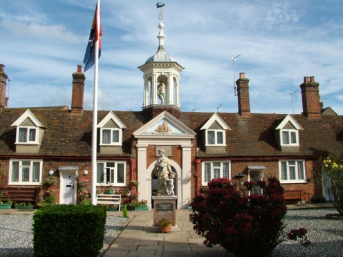 Old Fishermen's Retirement Homes, Great Yarmouth