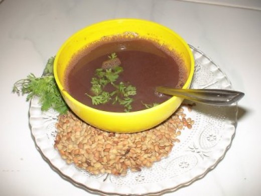 India , Horse-Gram Soup for High Blood Pressure