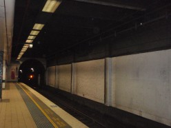WHERE TRAINS COULDN'T TRAVEL ABOVE GROUND THEY TRAVELLED UNDERGROUND