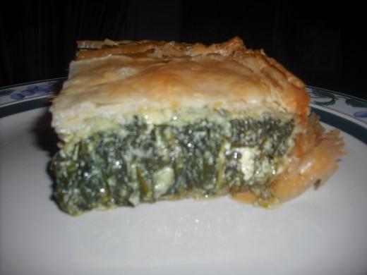 Cheesy, spinach-y goodness!