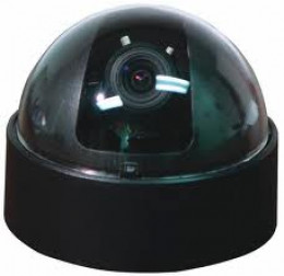 """Dome Cameras offer security without that """"security camera in your face"""" attitude."""