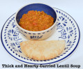 Healthy, Hearty Curried Lentil Soup Recipe