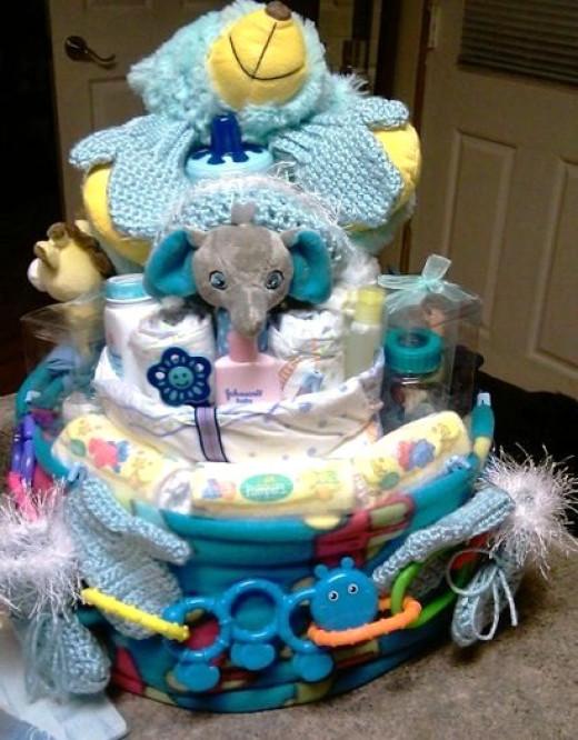 My Diaper Creation for my nephew.