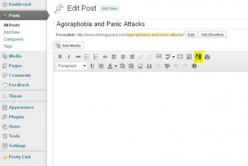 Click the Google Docs icon on the toolbar to open the embedder plugin.