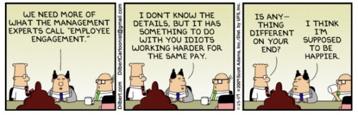 Dilbert November 25, 2009. He always sums it up.